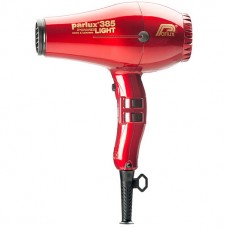 Parlux 385 PowerLight Ionic & Ceramic Red