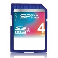 Silicon Power SDHC Card 4GB Class 4