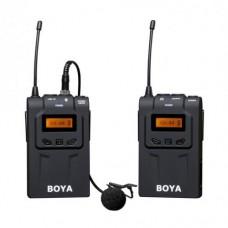 Boya BY-WM6 Беспроводной микрофон петличка (100 м)